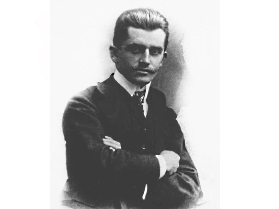 Юный Фердинанд Порше