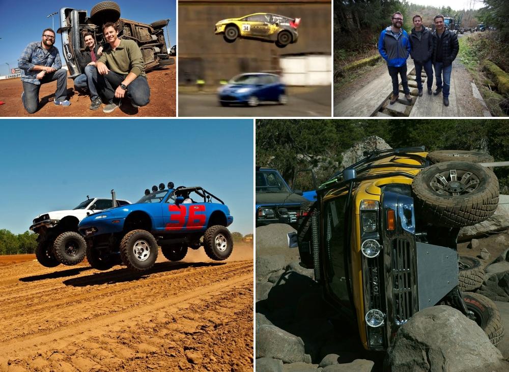 Top Gear USA кадры со съемок