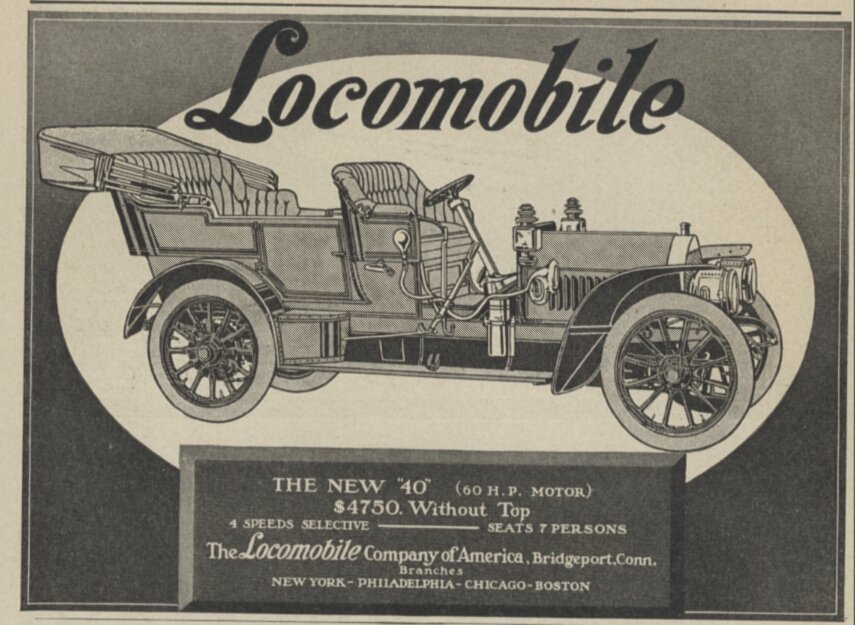 Locomobile 1908 года