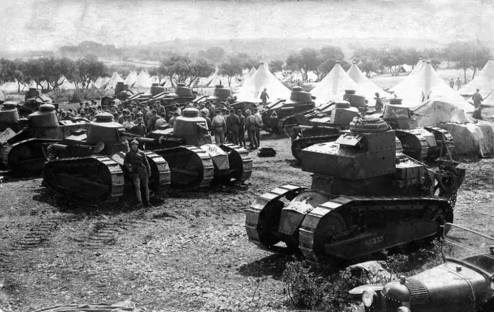 Танк Renault FT-17